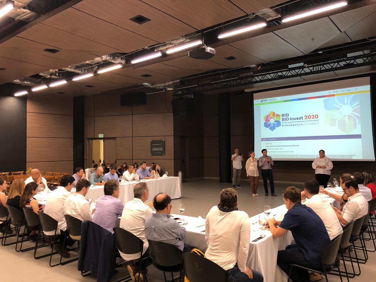 Barranquilla recibe a Misión del BID para avanzar en preparación de la Asamblea 2020