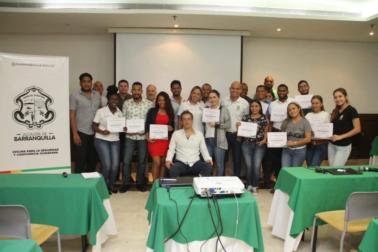 Exitoso espacio académico sobre seguridad en el marco del Mes de la Convivencia en Barranquilla