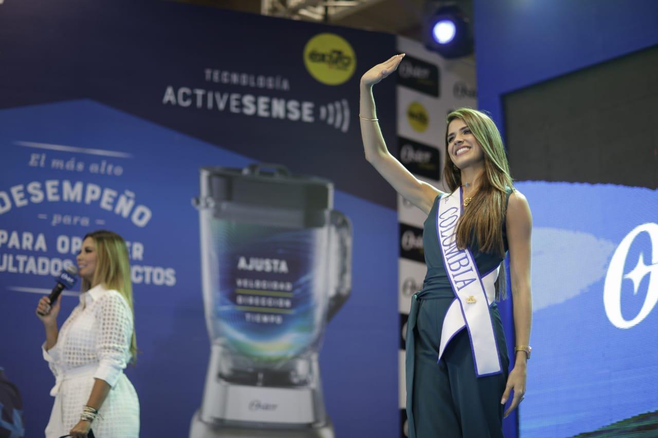 """La Señorita Colombia dio la bienvenida en la final de """"Oster Inspira"""""""