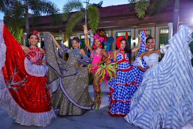 Arrancó la lucha por el cetro de la Reina Popular del Carnaval de Barranquilla