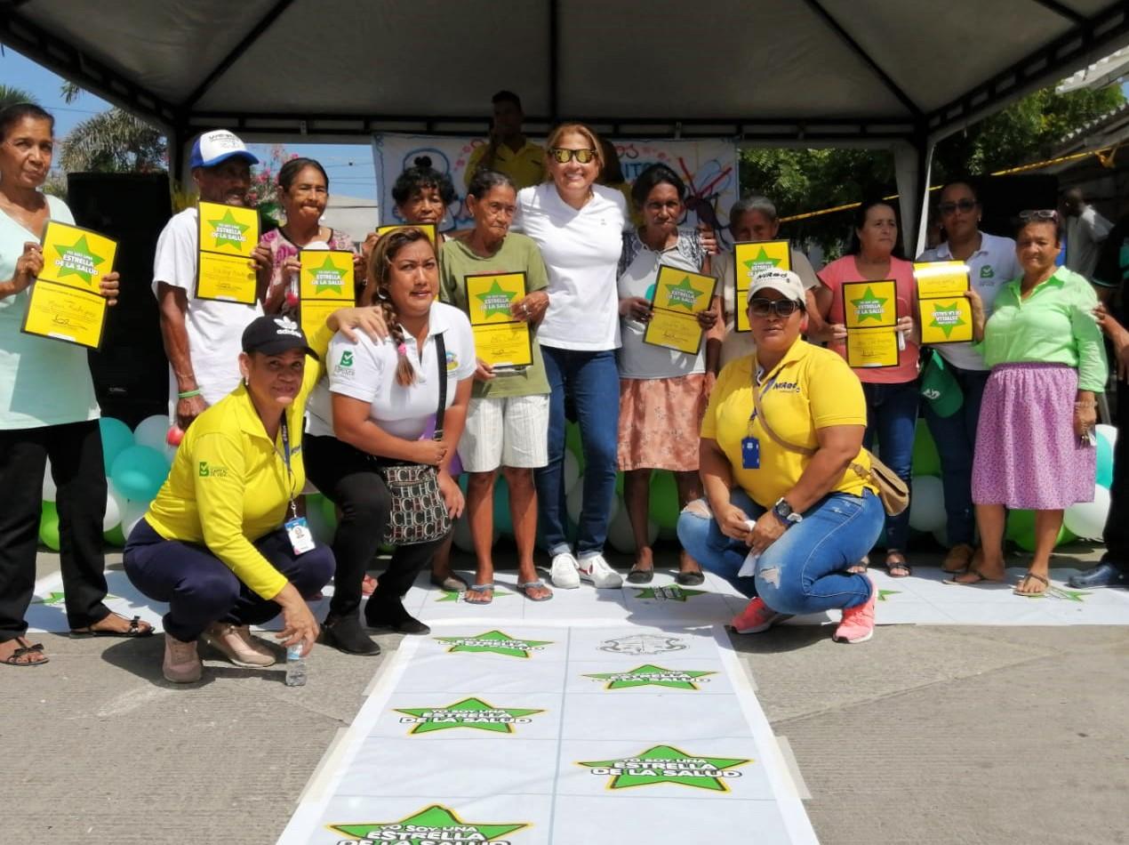 En Barranquilla, 32.124 familias son Estrellas de la Salud en lucha contra el dengue