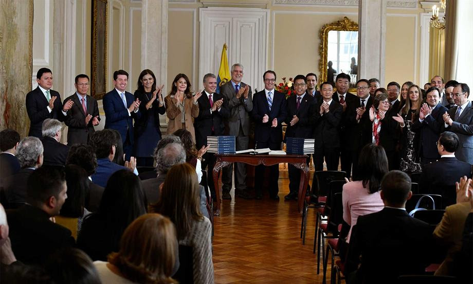 A partir de este momento el Metro de Bogotá no tiene reversa, dijo el Presidente Duque tras firma del contrato de concesión