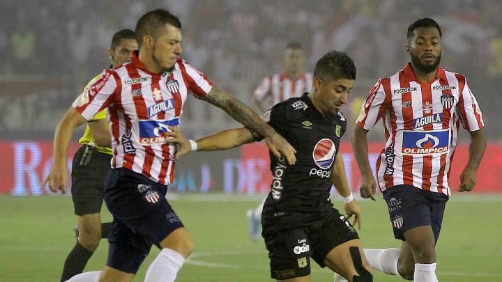Junior y América se fueron en tablas en la primera final de la Liga Águila