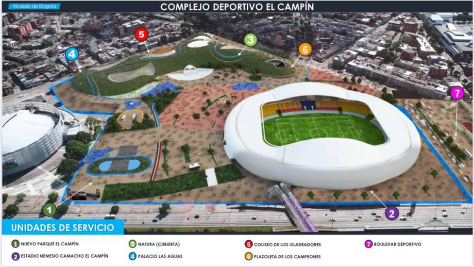 Estadio El Campín será remodelado anunció el IDRD