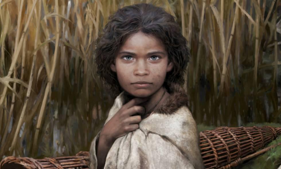 Logran reconstruir la apariencia de una mujer de hace 5700 años gracias a un chicle
