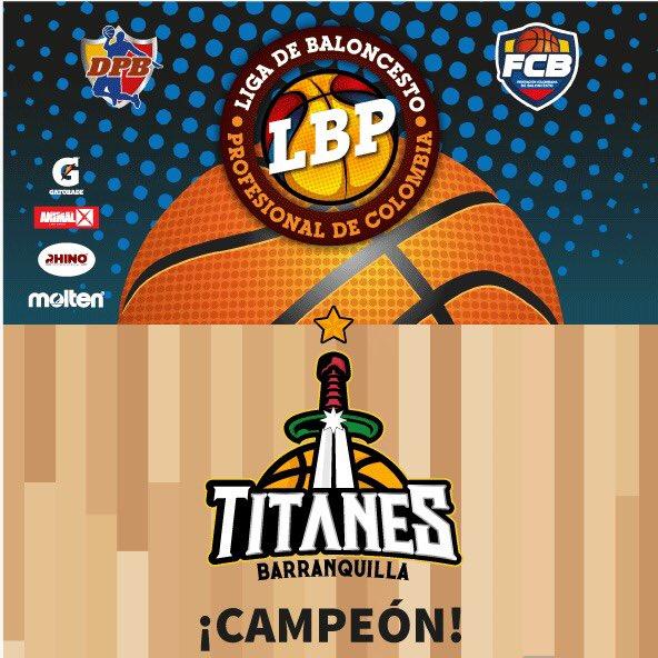 Titanes de Barranquilla se coronó bicampeón del baloncesto profesional colombiano