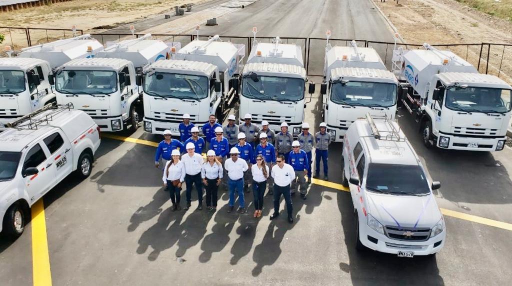 Electricaribe cuenta con nueva flota de vehículos lavadores
