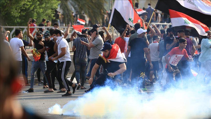 Manifestantes-Irak