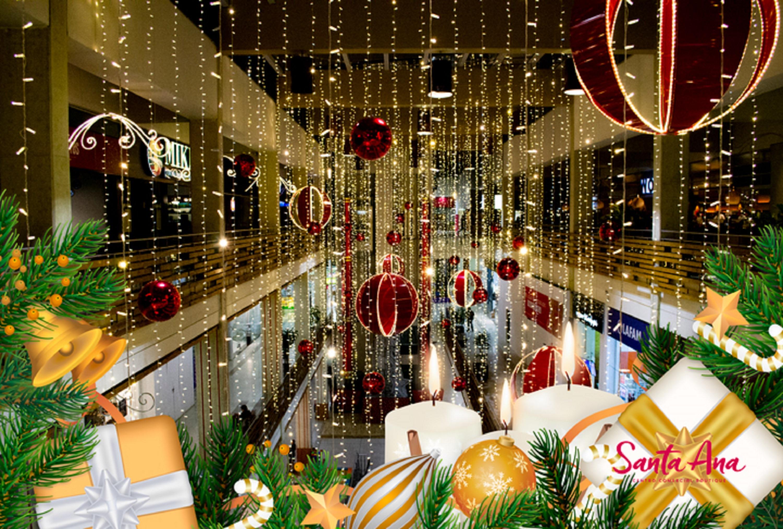 Los famosos se unen a las novenas navideñas en el centro comercial Santa Ana