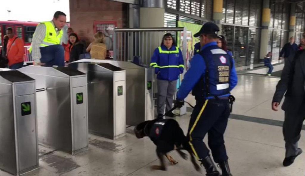 Claudia López alcaldesa electa de Bogotá suspenderá el uso de perros seguridad en Transmilenio