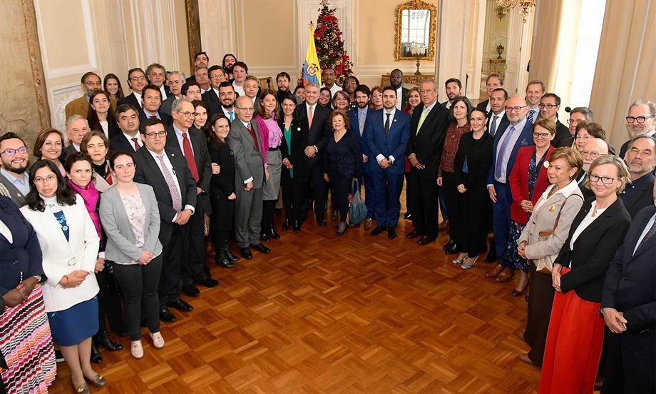 Producto de la Gran Conversación Nacional estamos llegando aquí', dijo el Presidente Duque al protocolizar la firma del Acuerdo de Escazú