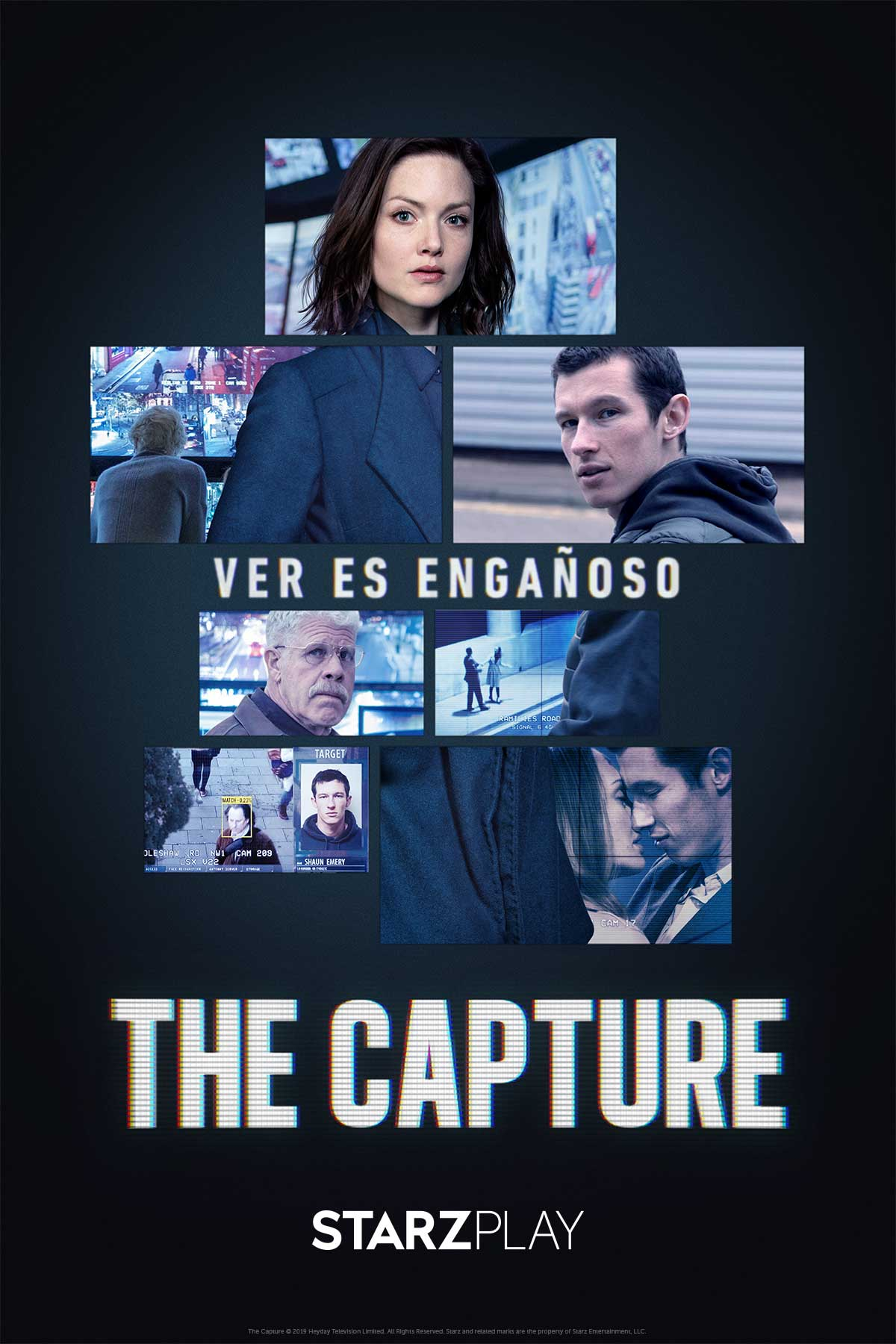 "Starzplay lanza este 2 de enero el thriller de drama y crimen ""The capture"""