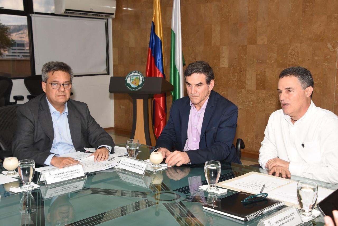 Firmado convenio entre la Gobernación de Antioquia y la Función Pública
