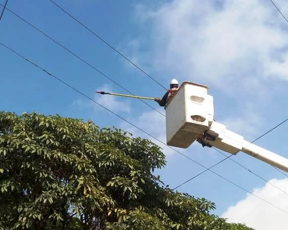 Instalan nuevas redes en sectores aledaños a la Vía 40 en Barranquilla