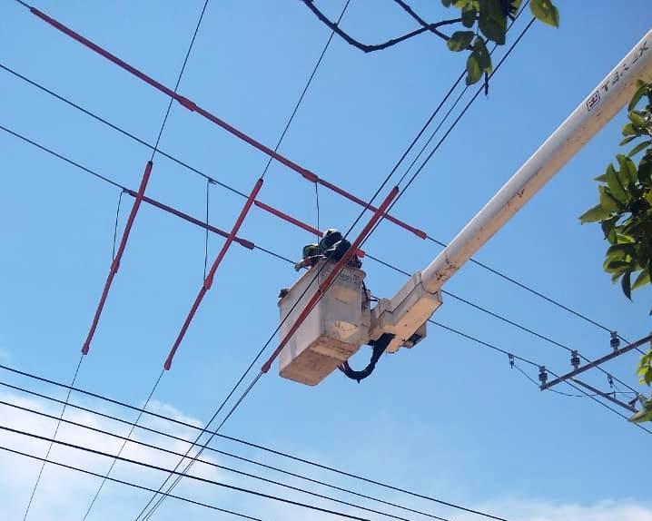 Instalan nuevas redes en barrios  cercanos a la Vía 40