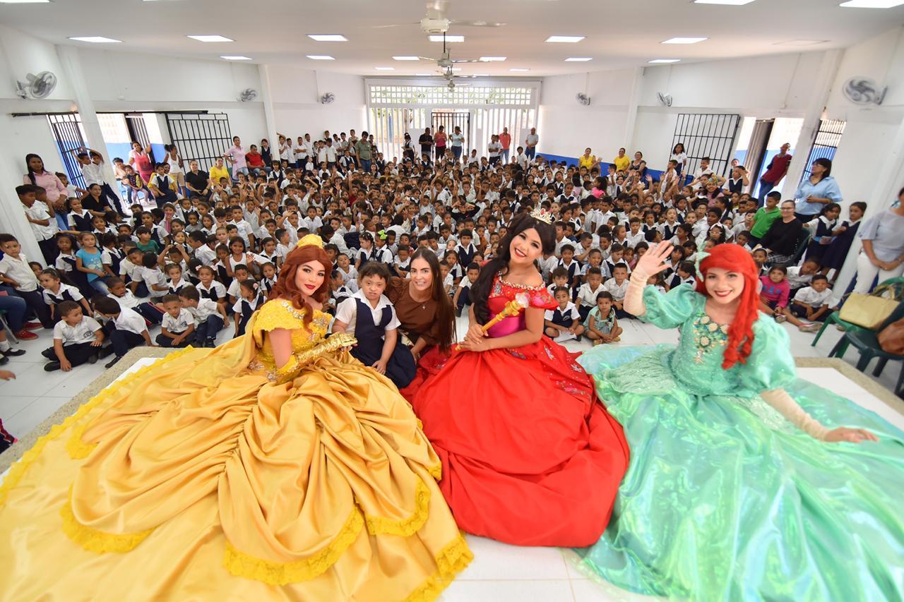 Administración Mello Castro realizó el lanzamiento del Programa de Alimentación Escolar para beneficiar a 41 mil estudiantes