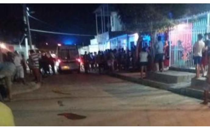 Asesinan a pareja de esposos frente a sus hijos en Las Colonias de Soledad, Atlántico