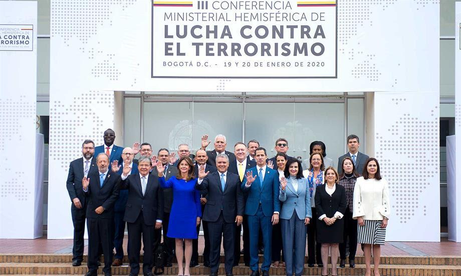 Sabemos de su valentía y su batalla contra la dictadura, le dijo el Presidente Duque al Presidente de Venezuela, Juan Guaidó