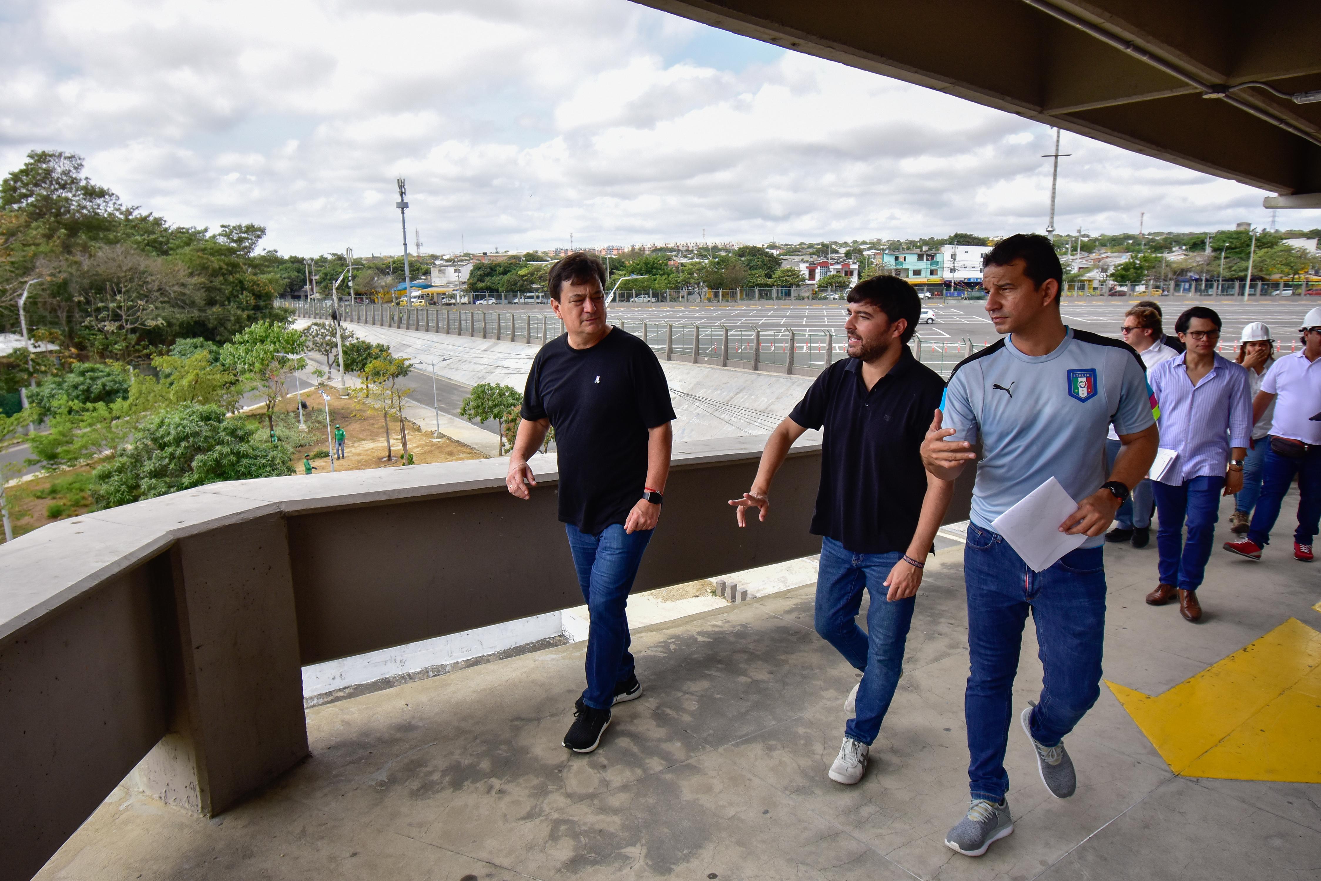 """""""Estamos transformando el Metropolitano para que esté a tono con los mejores del mundo"""": alcalde Pumarejo"""