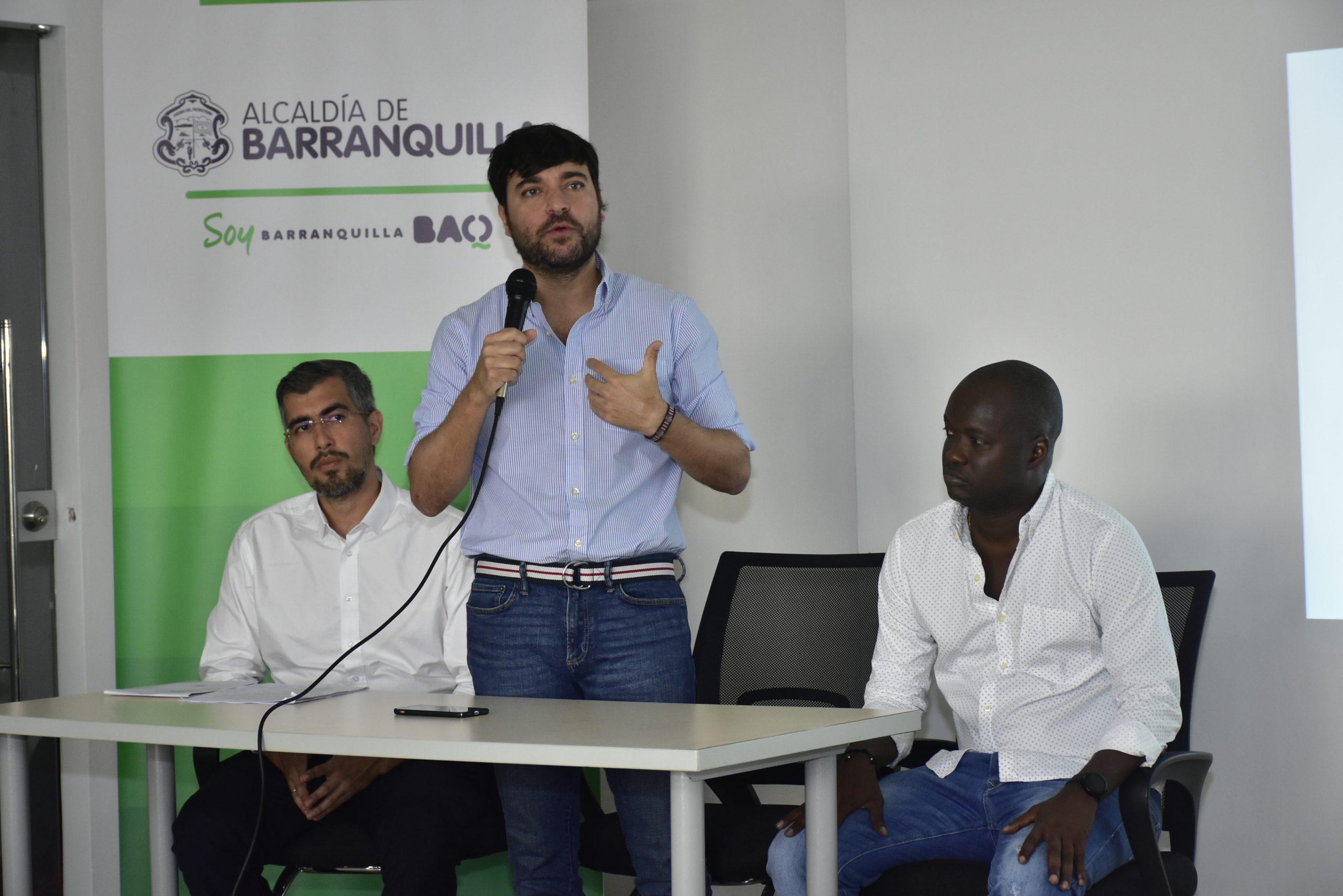 """""""Barranquilleros, afinen sus lápices, porque entre todos vamos a construir el Plan de Desarrollo 2020 – 2023"""": alcalde Pumarejo"""