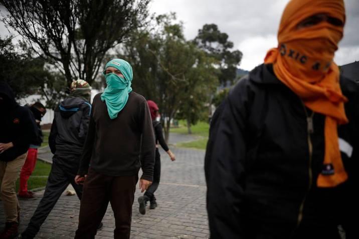 Disidentes de las FARC se organizan de la siguiente forma para meterse infiltrados en marchas