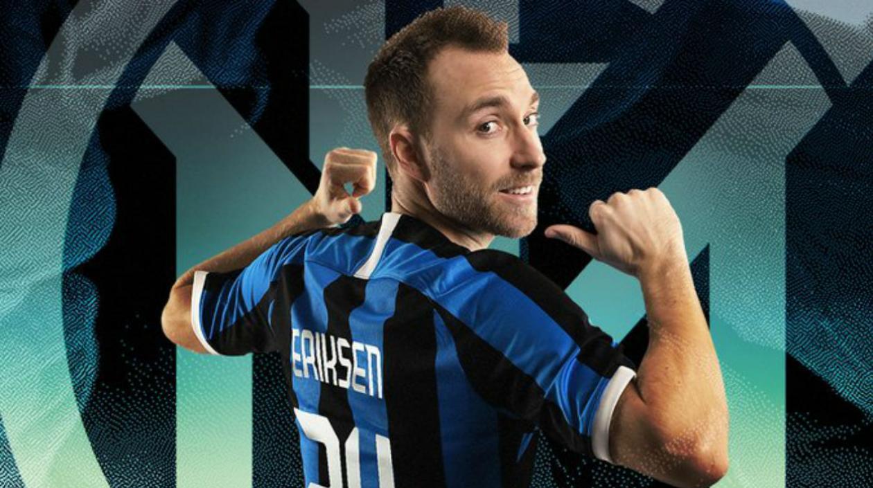 Christian Eriksen, nuevo jugador del Inter de Milán