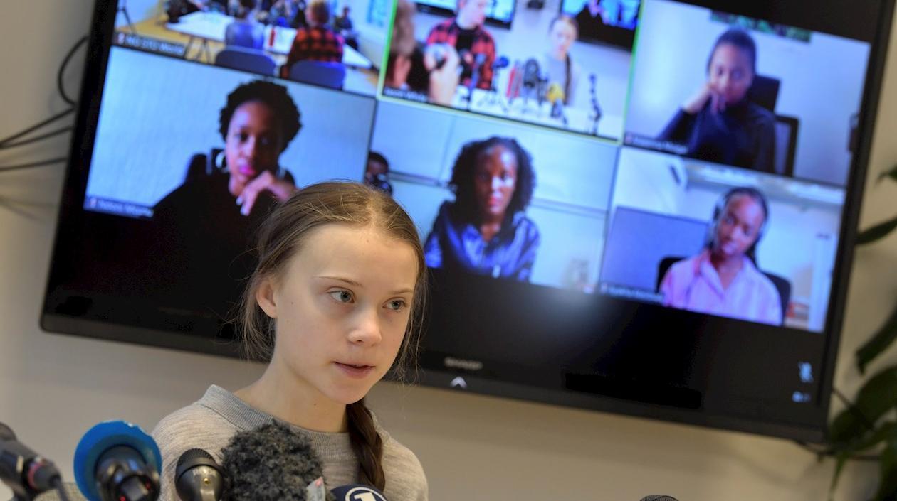 Greta Thunberg reclamó atención para África en la lucha contra crisis climática