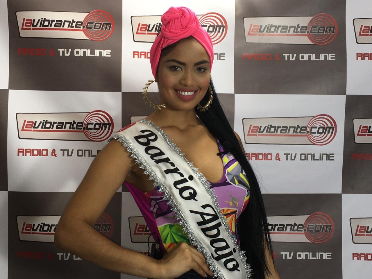 Mafe Cantillo, Reina Popular del Barrio Abajo 2020 del Carnaval de Barranquilla