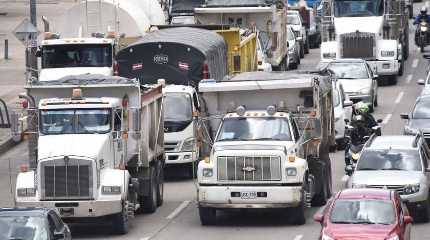 ABC, de la restricción para vehículos de carga en Bogotá