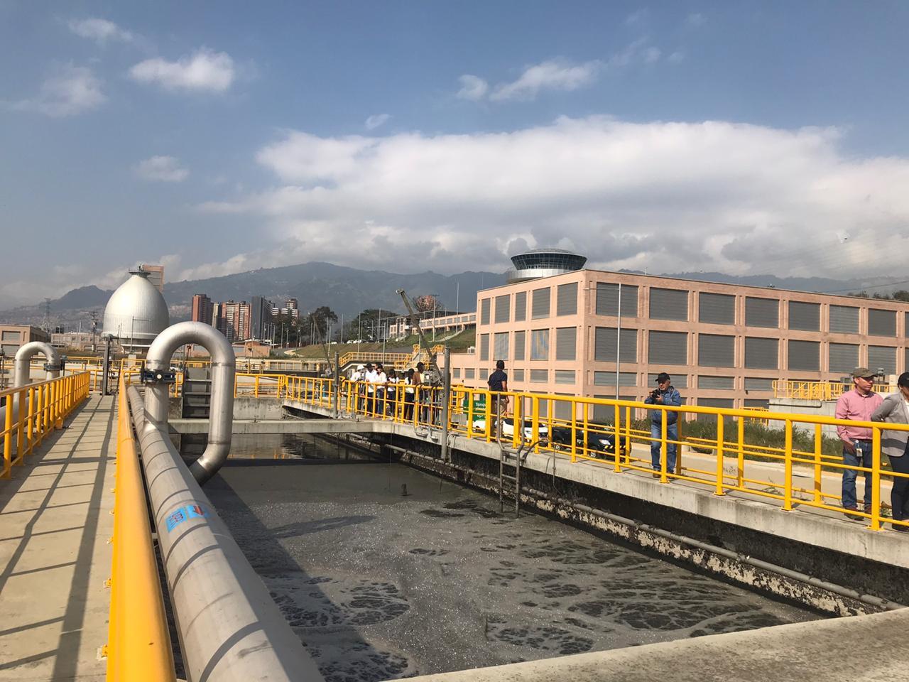 Comité de CODEAM evidencia avances en trabajos de EPM para controlar olores en la Planta Aguas Claras