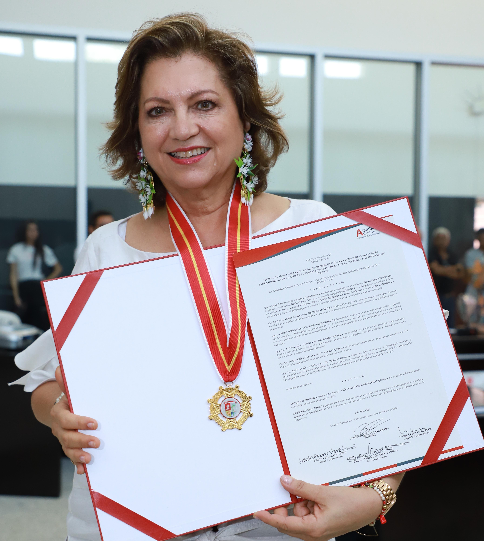 Distinción Orden de Barlovento para la Directora y Reyes del Carnaval 2020