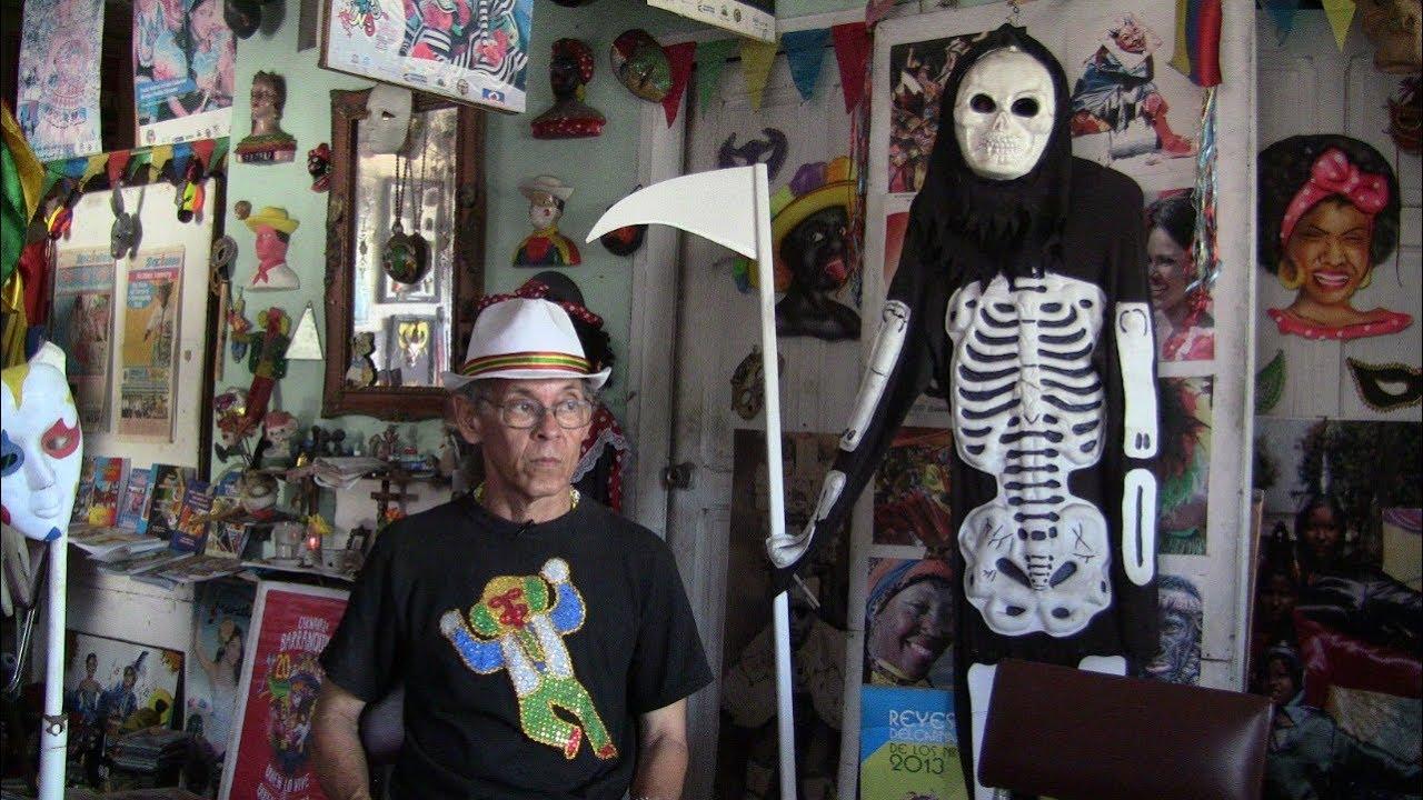 Cesar Martínez, conservando la memoria del Carnaval de Barranquilla