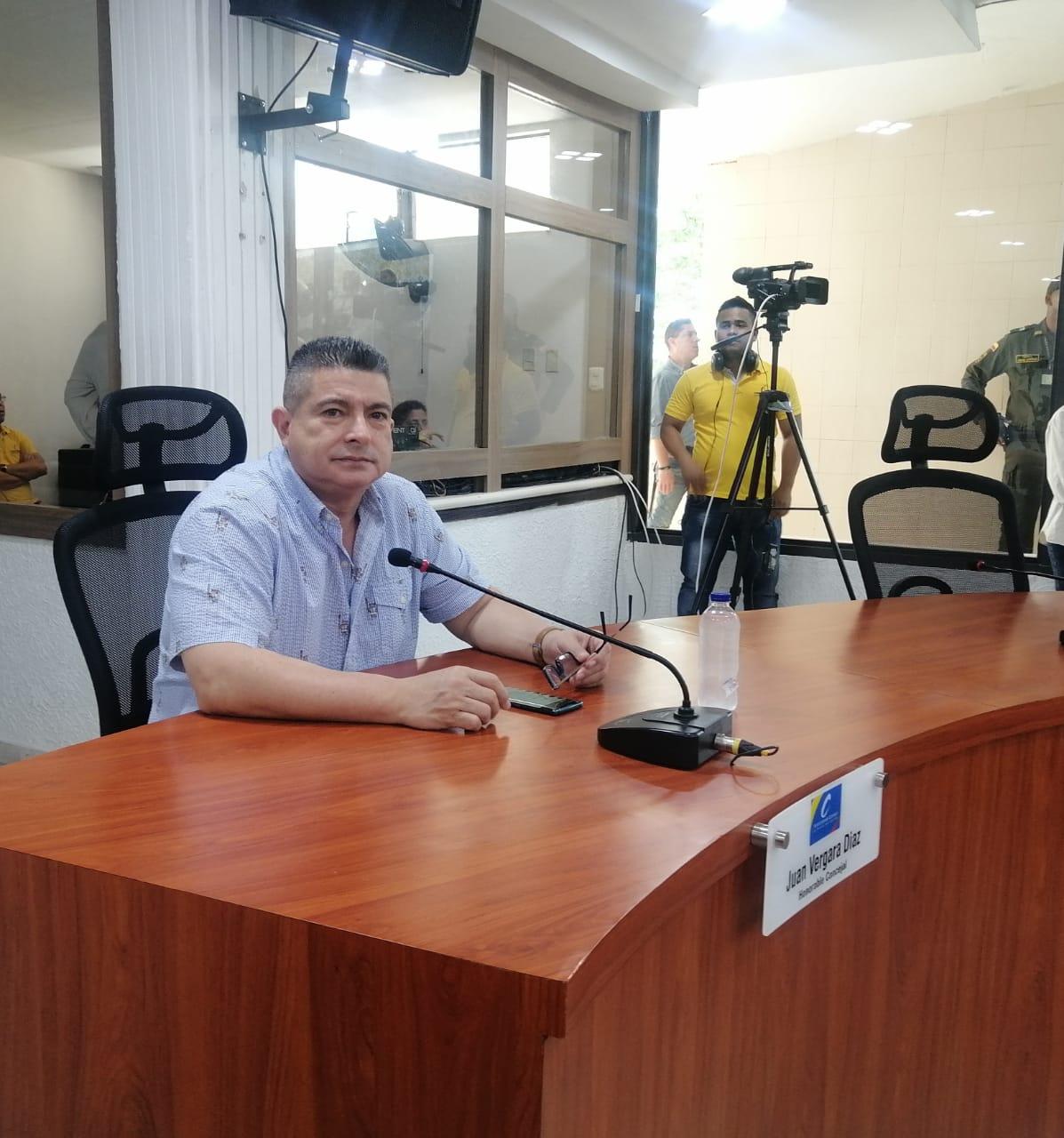 Concejal Juan José Vergara, apoya citar a la Secretaría de Tránsito y Seguridad Vial para tocar el tema de parqueos en la ciudad de Barranquilla