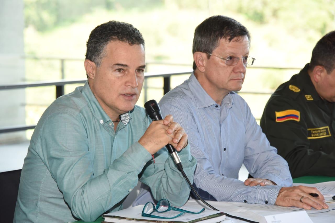 Fortalecer las estrategias de seguridad es el compromiso pactado en el Consejo de Seguridad Subregional de Occidente