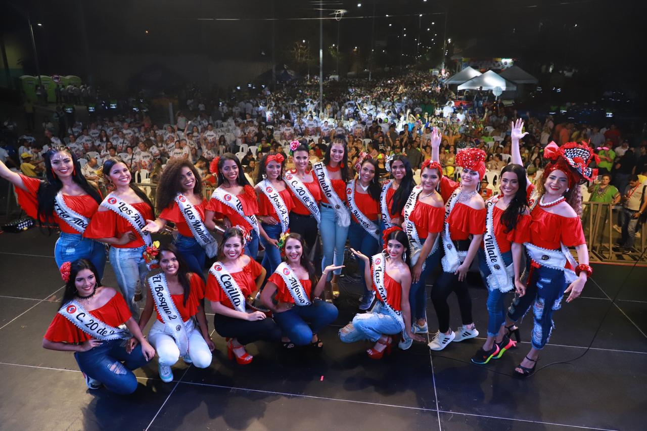 Viernes de Reina, un espectáculo de lujo en el gran Barrio Abajo de Barranquilla