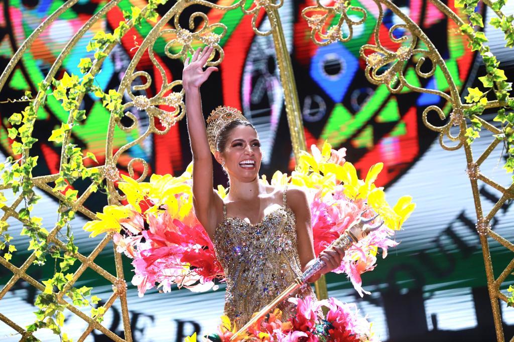 Isabella Chams fue coronada como Reina del Carnaval de Barranquilla 2020