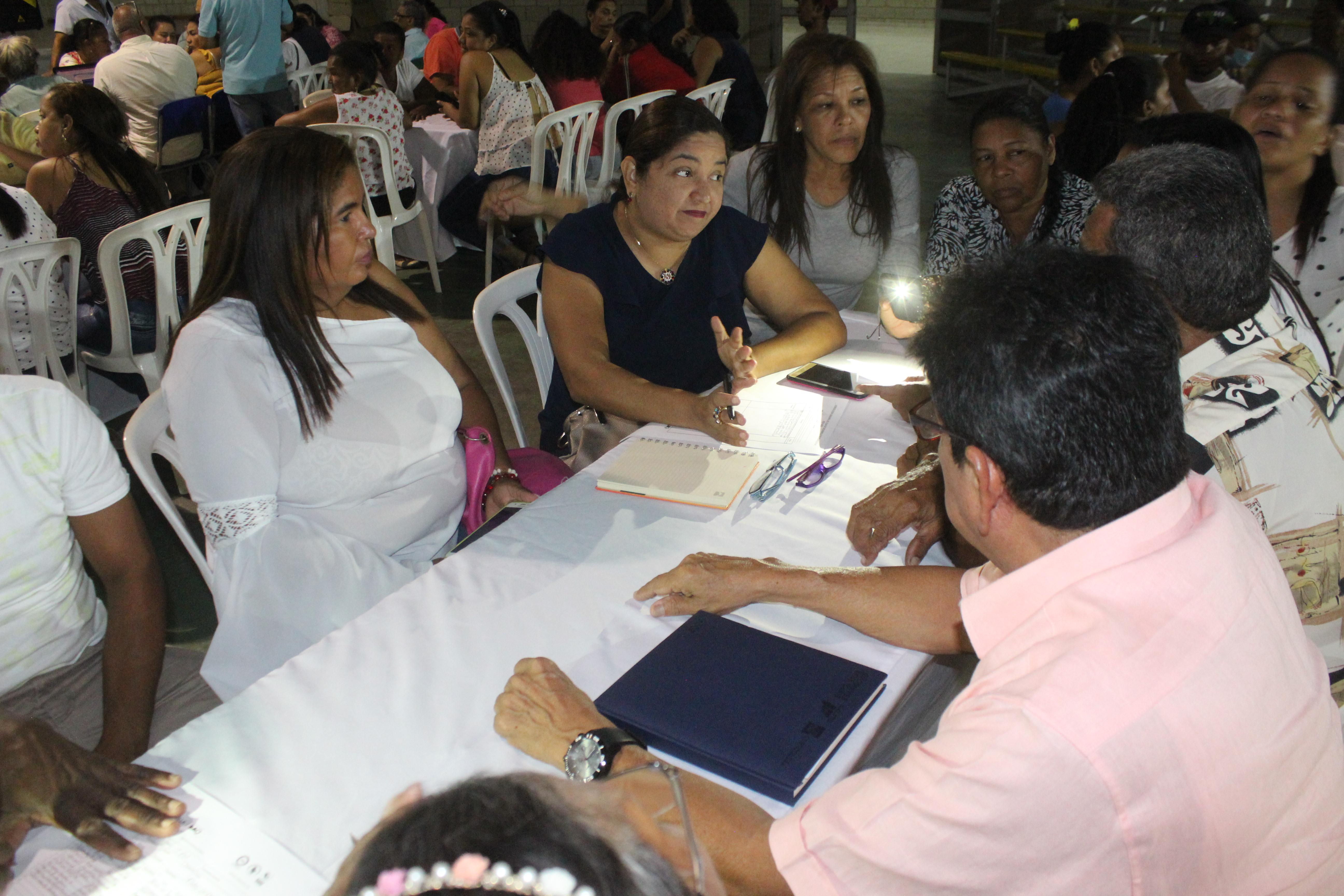 Localidad Riomar presentó sus propuestas para los 4 retos de ciudad en el Plan de Desarrollo