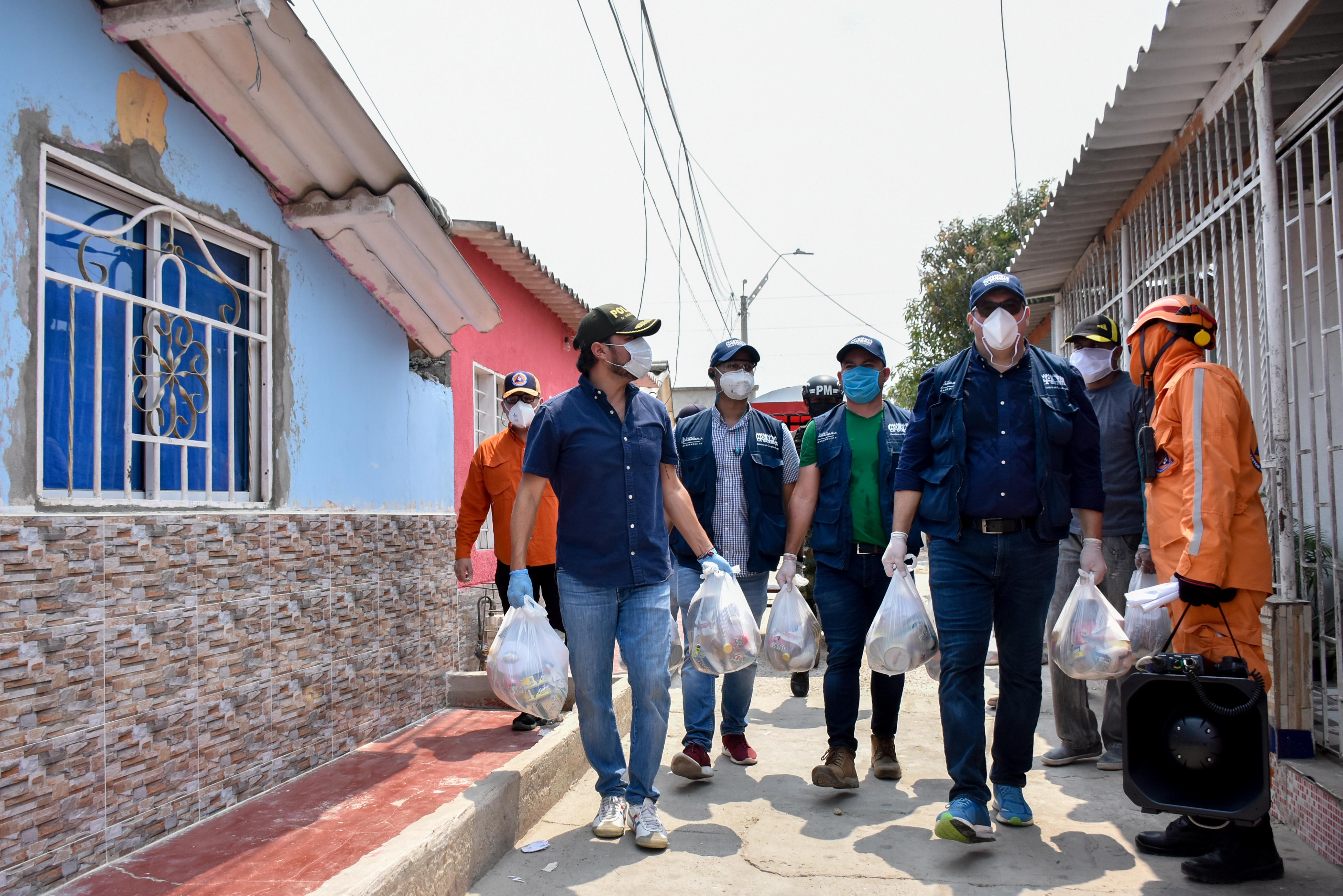 33.815 auxilios alimentarios ha entregado el Distrito a población vulnerable durante primera semana de aislamiento obligatorio