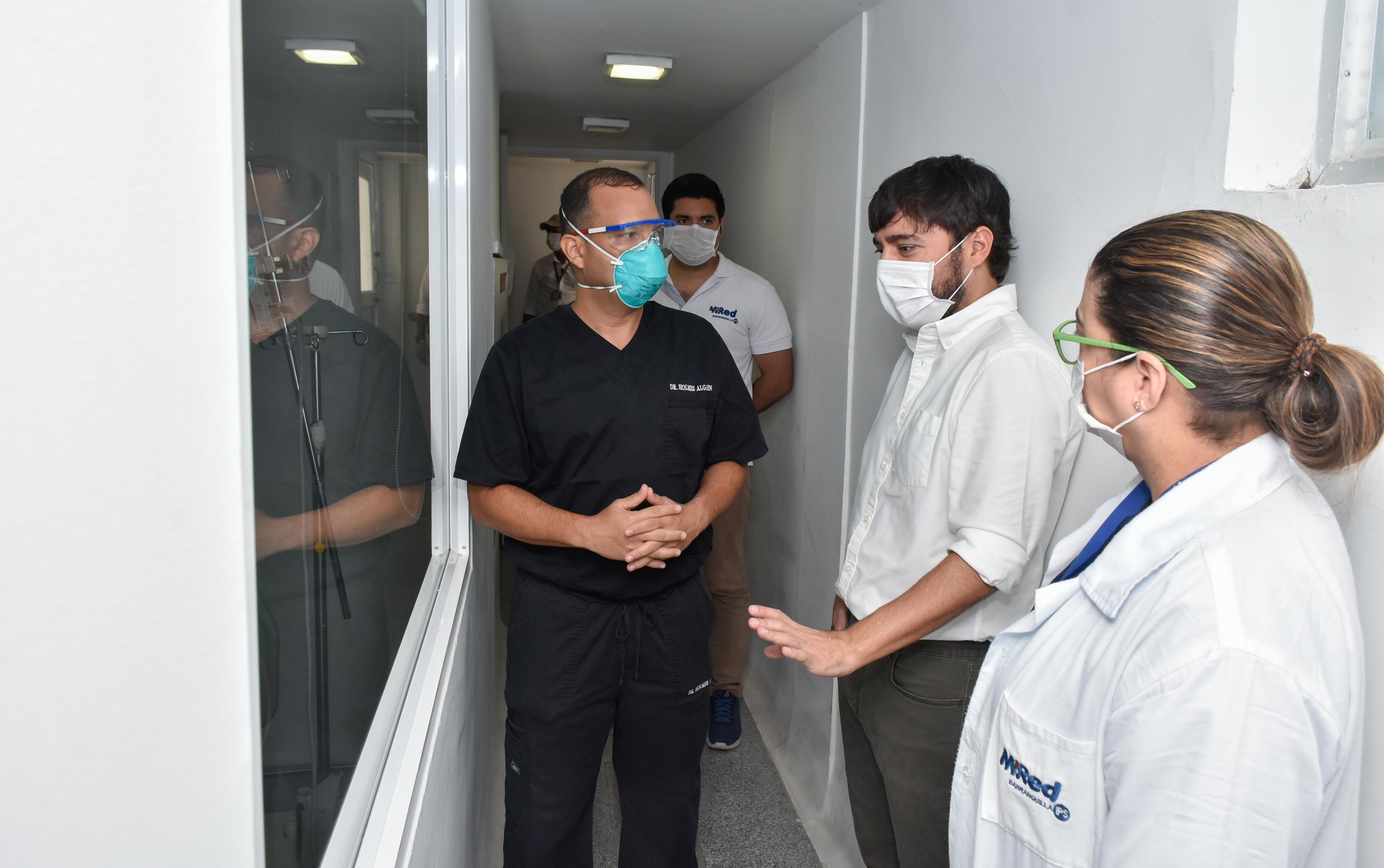 """""""El CAMINO Universitario Adelita de Char está listo para atender los casos de mayor necesidad clínica de coronavirus"""": alcalde Pumarejo"""