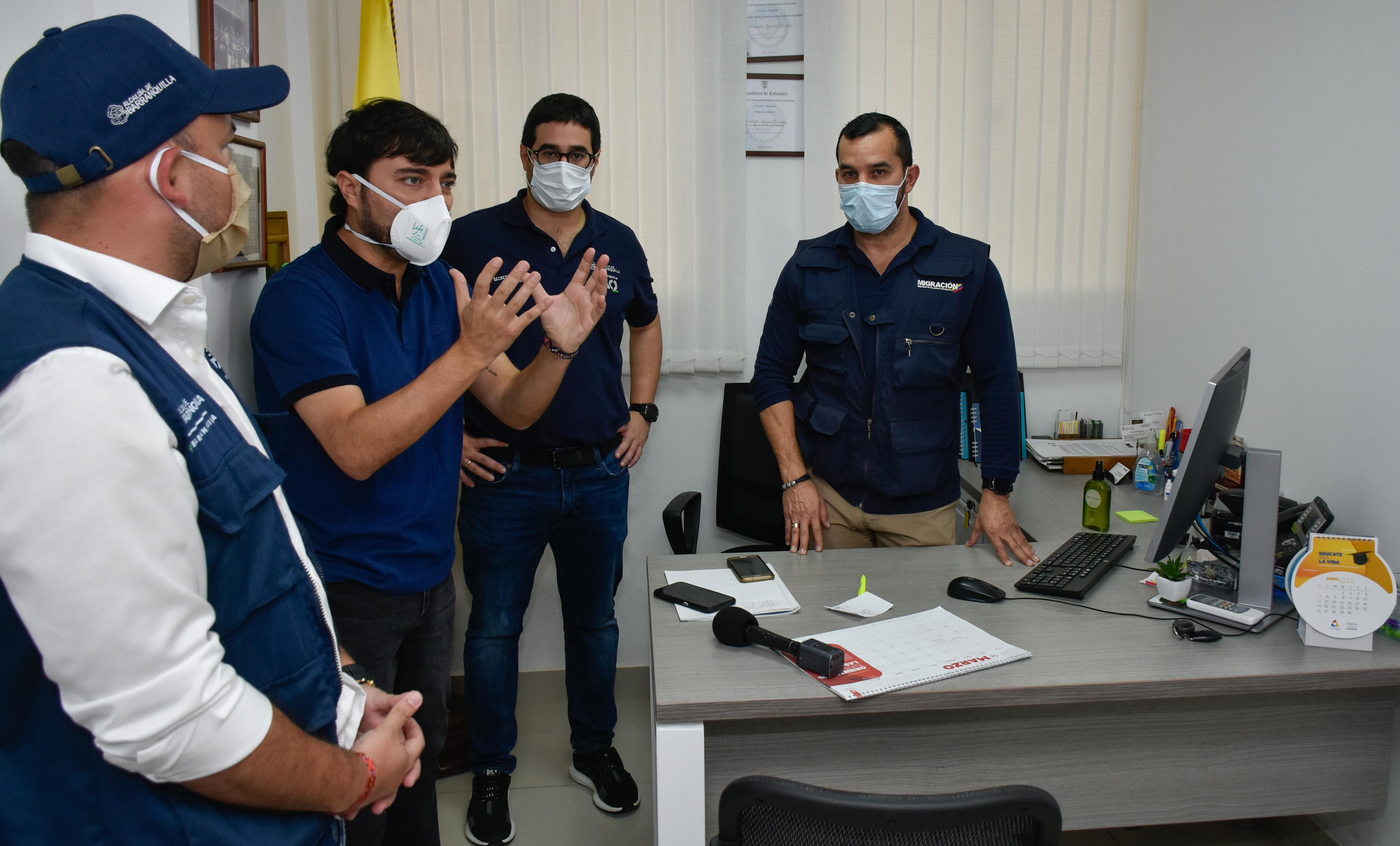 En acciones preventivas y de control durante aislamiento preventivo, Distrito ha impuesto 820 comparendos