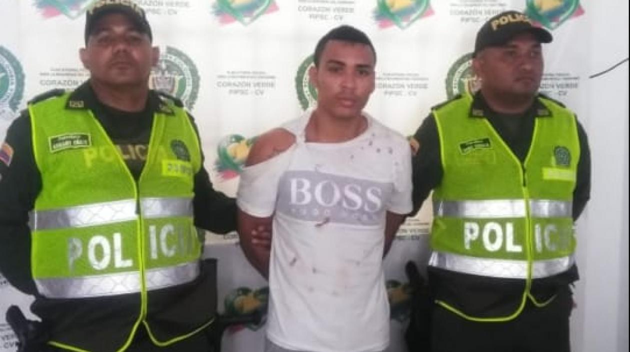 Capturado cuando extorsionaba a una comerciante en Barranquilla