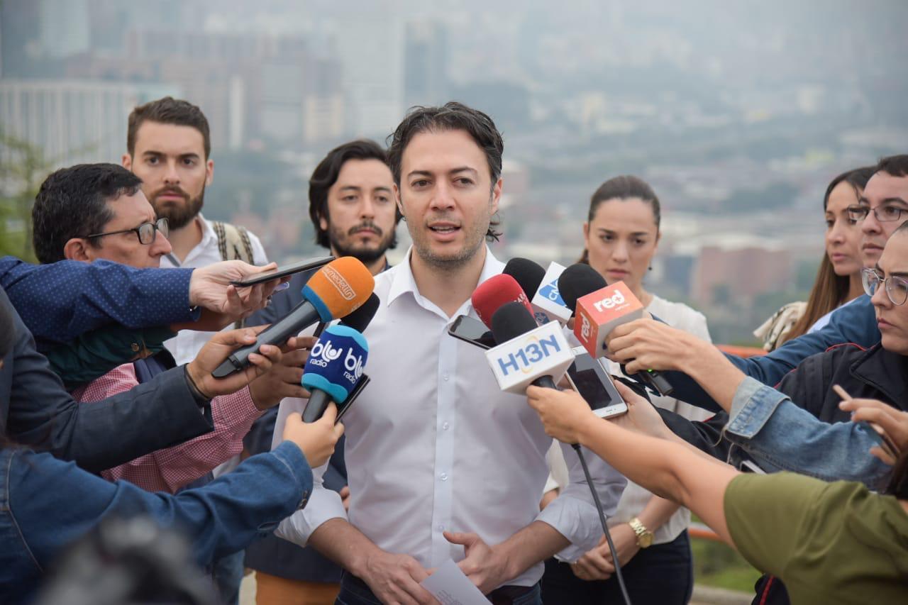 Alcaldía de Medellín anuncia plan de choque ante emergencia climática