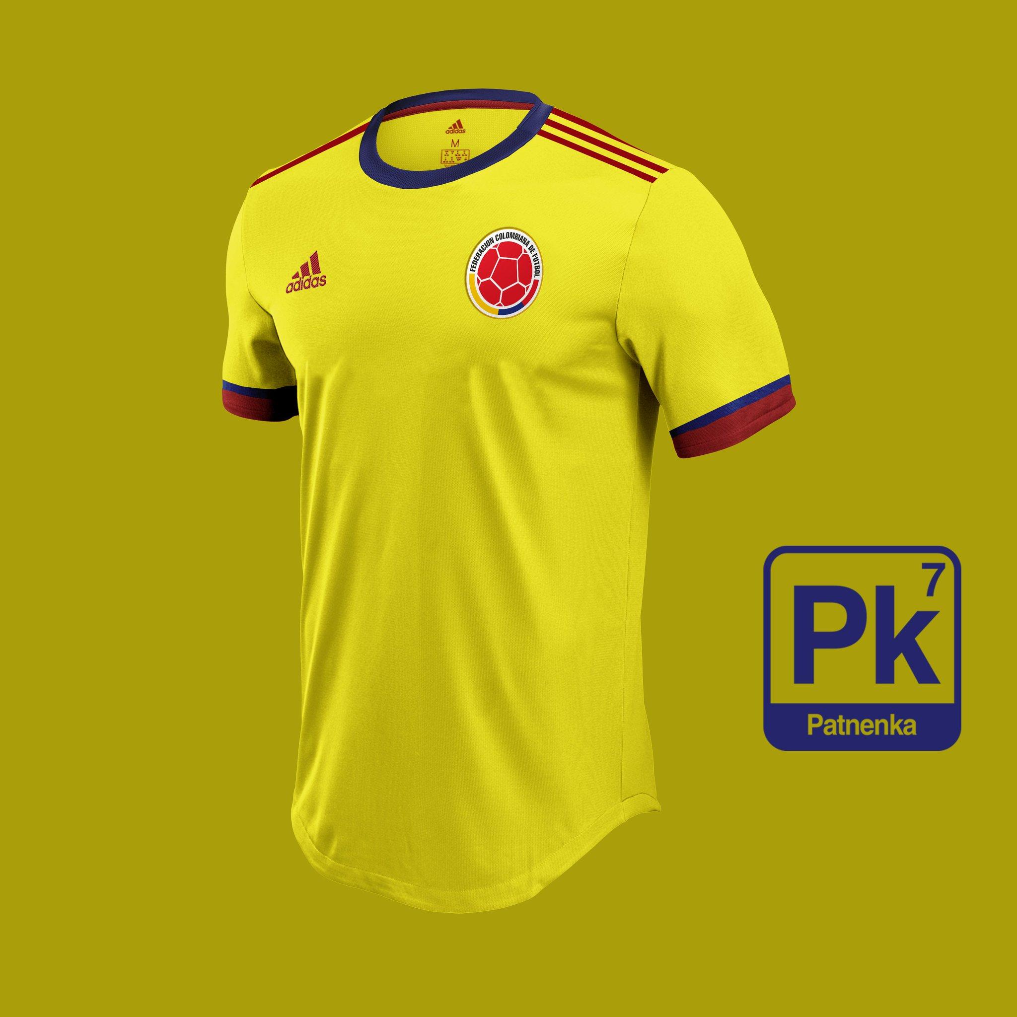Esta es la nueva camiseta de la Selección Colombia