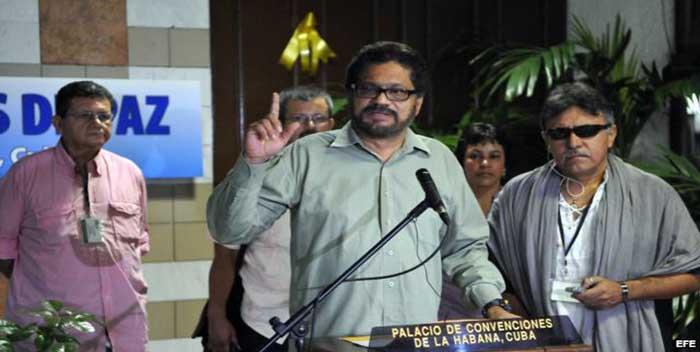 Estos son los miembros de las FARC acusados por EEUU de colaborar con Maduro