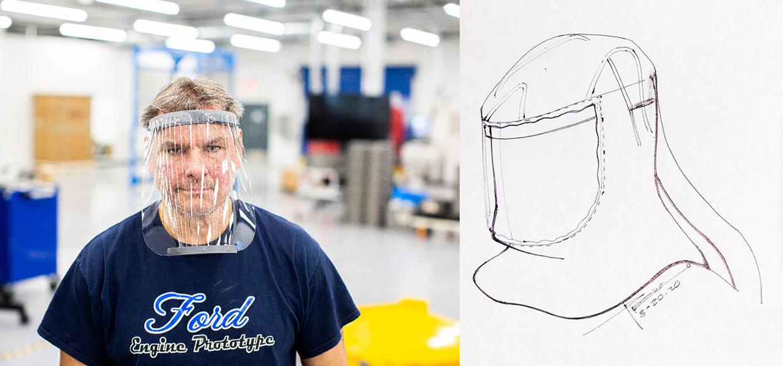 Ford crea respiradores y ventiladores a toda velocidad