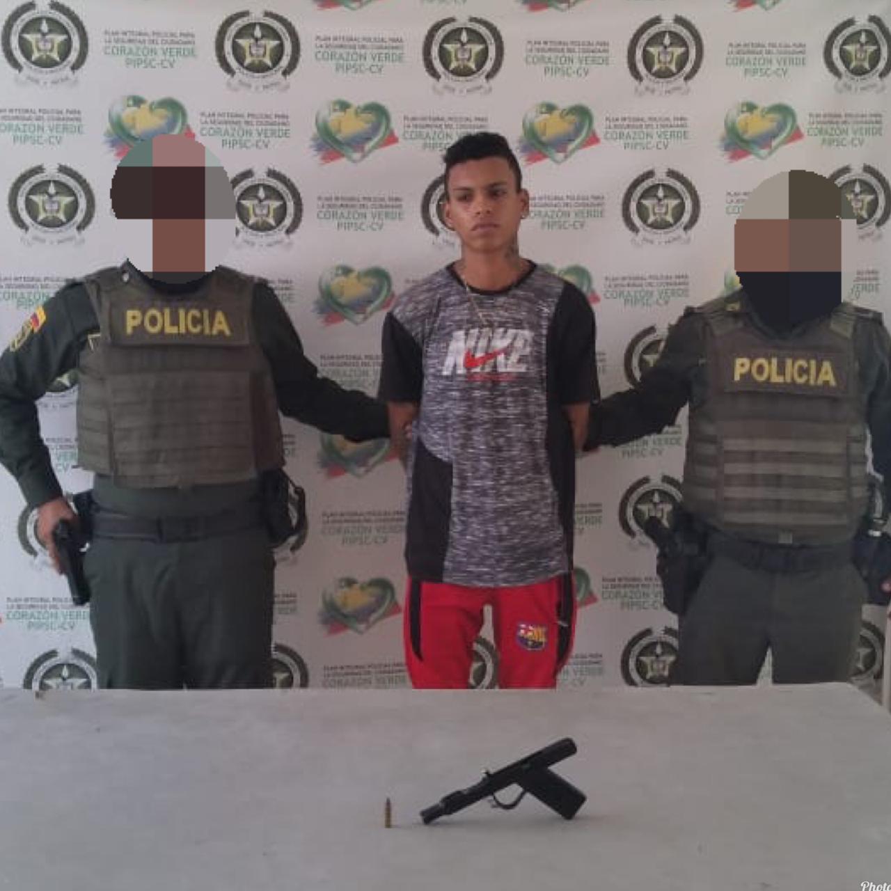 Policía de Barranquilla captura a 3 personas por fabricación y porte ilegal de armas