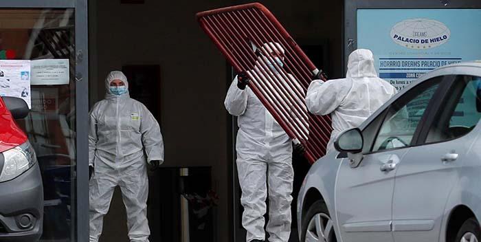 Madrid prepara una nueva morgue temporal para 200 cadáveres