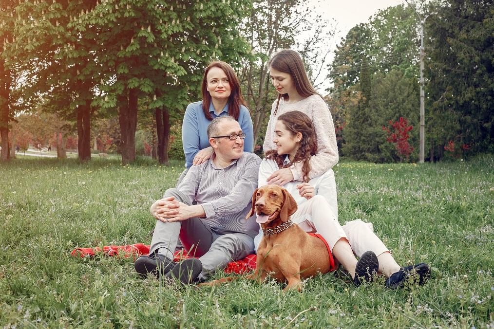 Despedir a una mascota, un momento importante para toda la familia