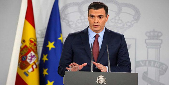 Tormenta política en España por las últimas decisiones  del Presidente de Español Pedro Sánchez