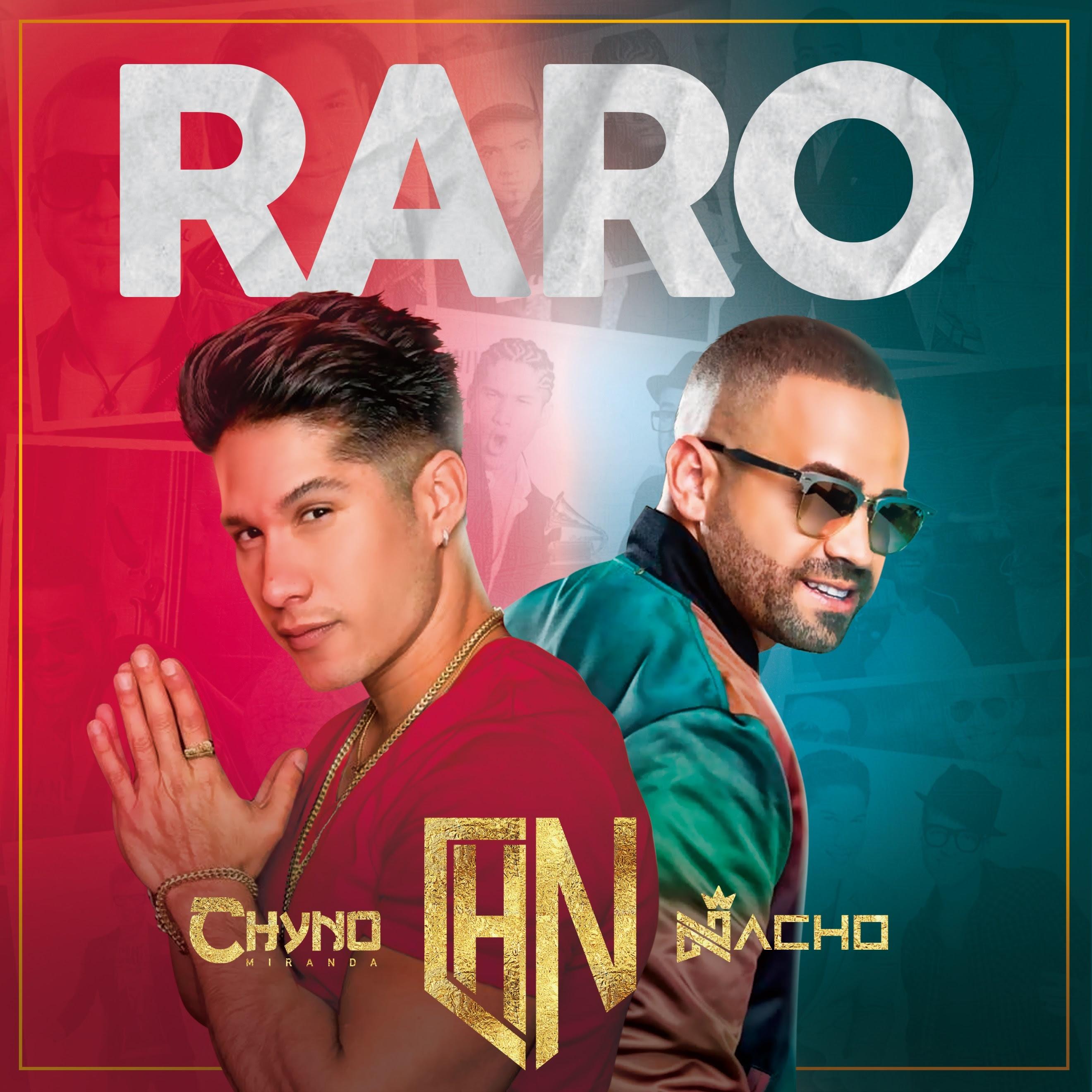 """""""Raro"""" de Chyno & Nacho, supera las 25 millones de reproducciones"""